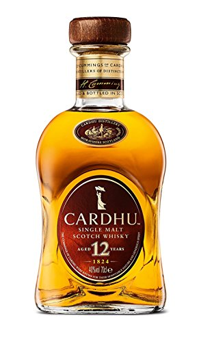 Cardhu 12 Años Single Malt Whisky Escocés