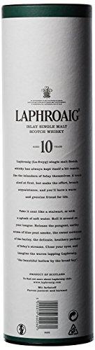 Laphroaig 10 Años Islay Single Malt Whisky Escocés