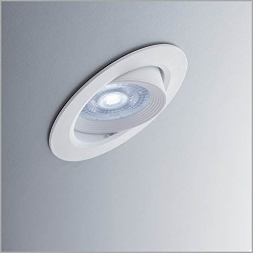 B.K.Licht 5 Focos empotrables más bombillas