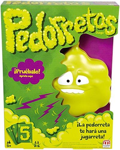 Mattel Games Pedorretas DRY35