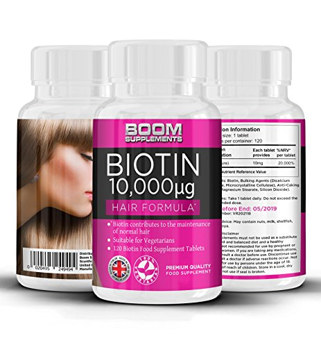 Biotina 10000 mcg Boom supplements