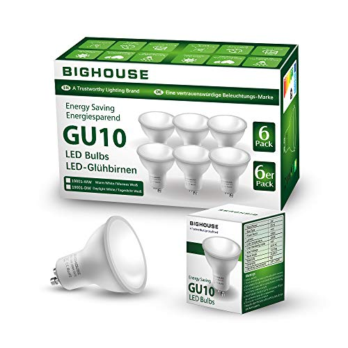 Bighouse 6 Bombillas LED GU10