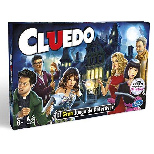 Hasbro Gaming Cluedo Versión Española