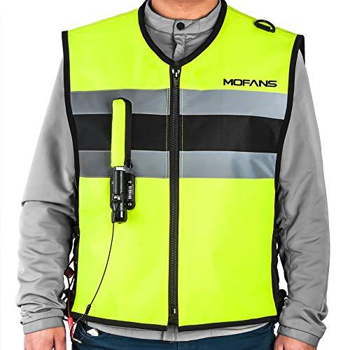 Motorfansclub Chaleco de Seguridad con Airbag para Moto Unisex