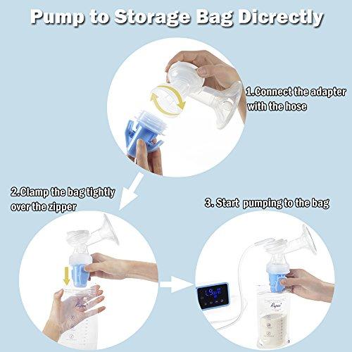 Bellababy Bombas de lactancia materna Blue-03