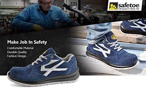 Safetoe 7328 Zapatos de Seguridad para Hombres