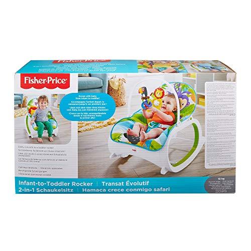 Fisher-Price Hamaca Safari(Mattel FML56)