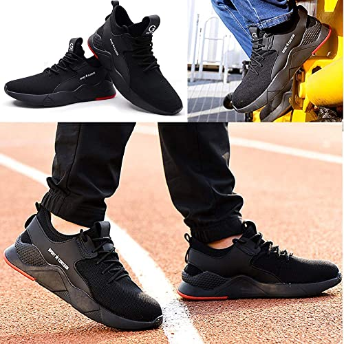 Coou Zapatillas de Seguridad Hombre