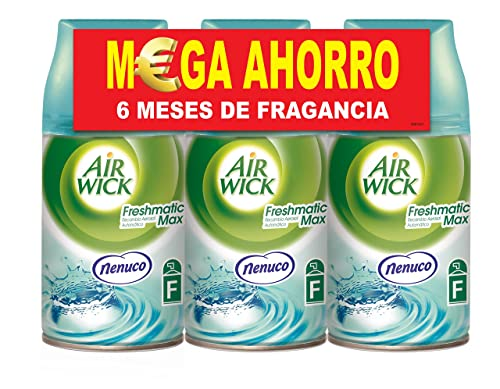Air Wick Freshmatic recambio fragancia Nenuco Pack de 3